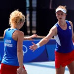 Barbora Krejcikova and Katerina Siniakova, Tokyo Olympics, July 2021