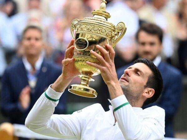 Novak Djokovic - Wimbledon 2021
