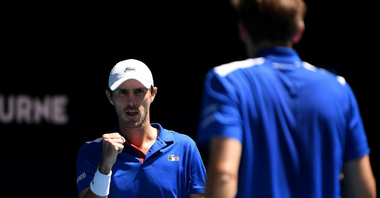 Édouard Roger-Vasselin - ATP Cup 2021