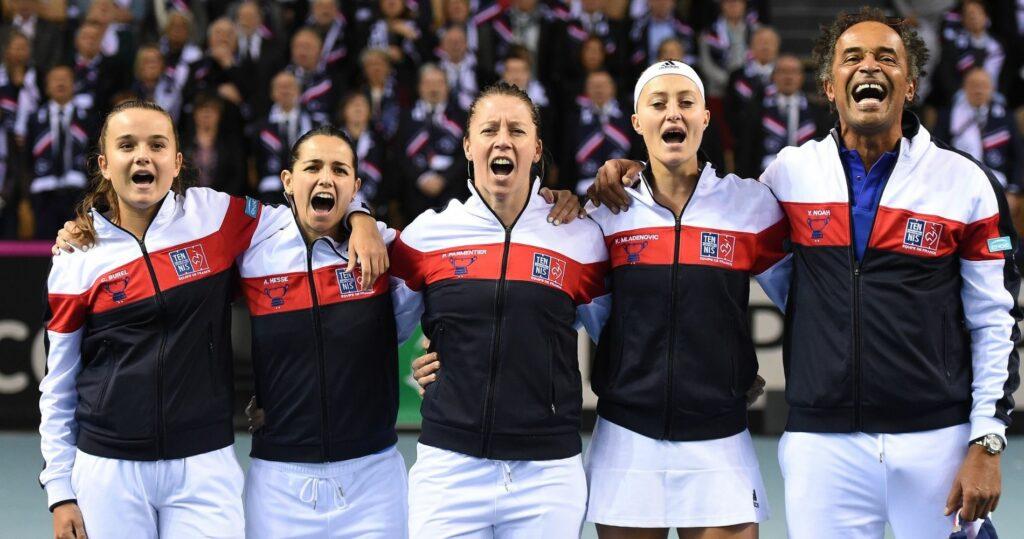 France-Belgique - Fed Cup 2018