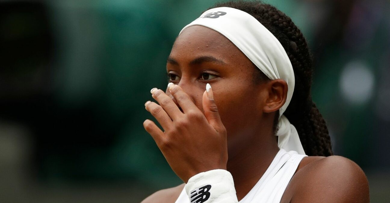 Cori Gauff - Wimbledon 2021
