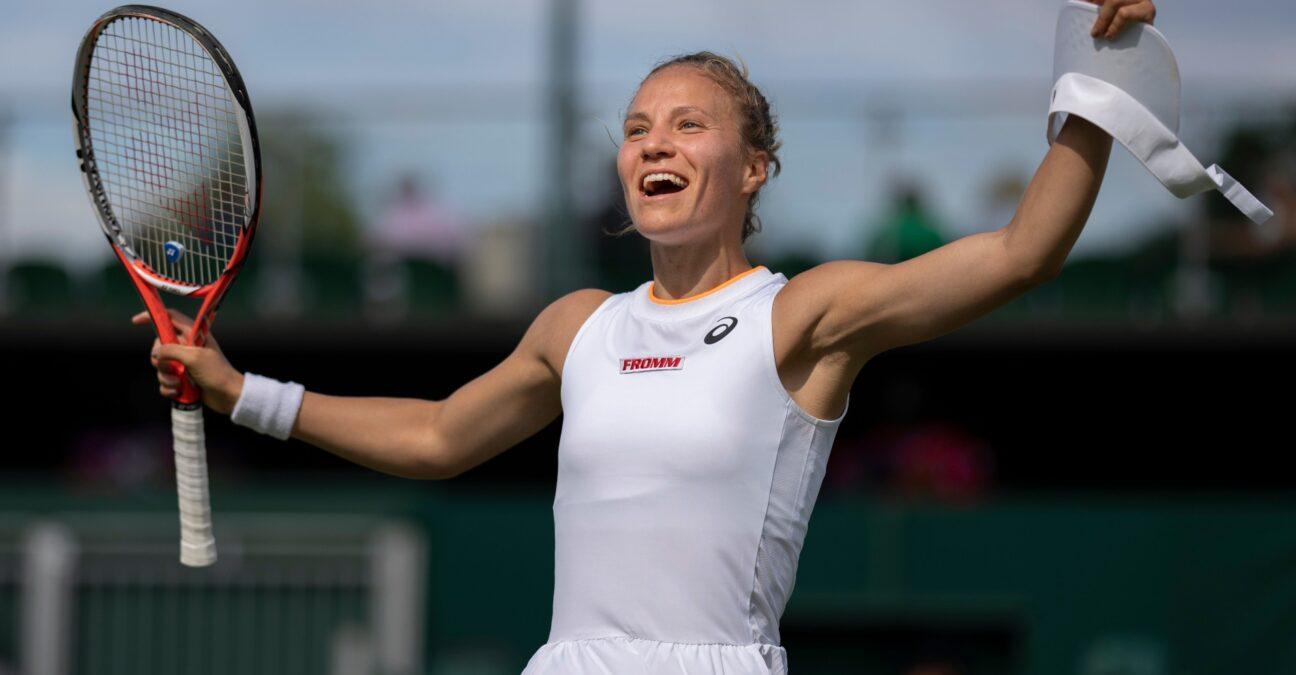 Viktorija Golubic at Wimbledon 2021