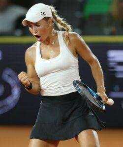Yulia Putintseva at Hamburg in 2021