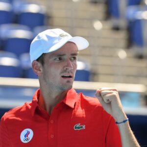 Daniil Medvedev Tokyo Olympics