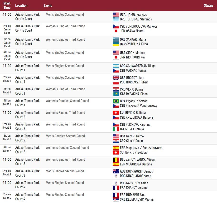 Olympics July 27