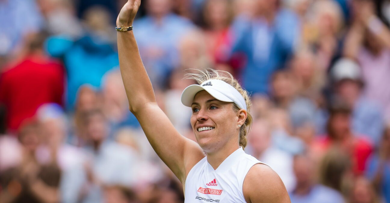 Angelique Kerber à  Wimbledon en 2021