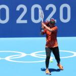Naomi Osaka aux Jeux olympiques de Tokyo en 2021