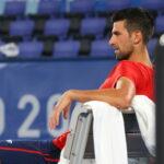 Novak Djokovic, aux Jeux olympiques de Tokyo en 2021