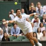 Novak Djokovic Wimbledon 2021 Semi Final