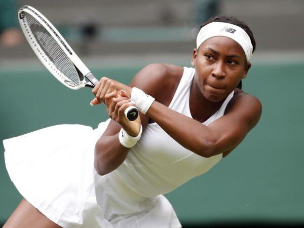Coco Gauff Wimbledon 2021
