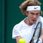Andrey Rublev Wimbledon 2021
