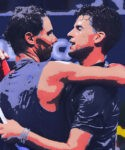 Rafael Nadal & Dominic Thiem at the US Open in 2021