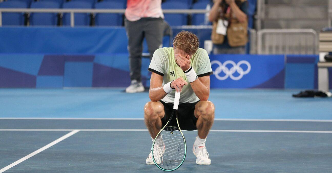 Alexander Zverev, Jeux olympiques de Tokyo 2020