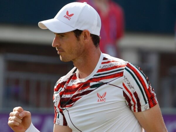 Andy Murray at the Queen's in 2021