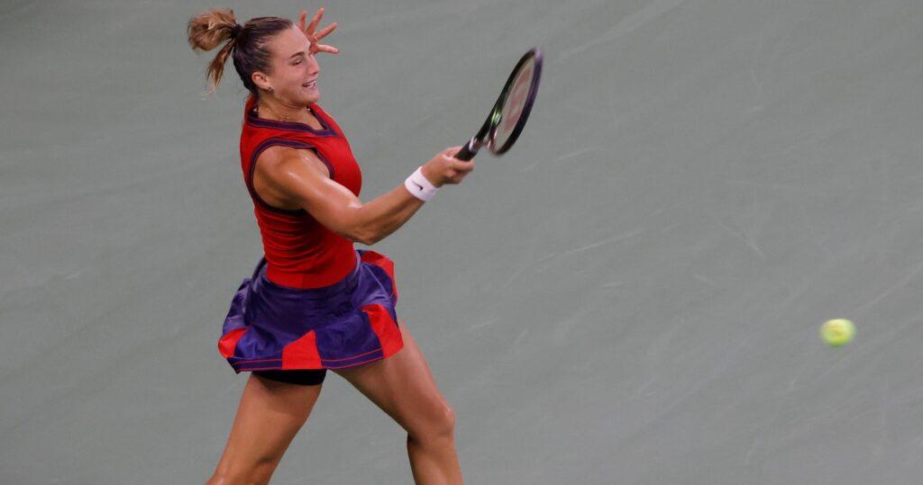 Aryna Sabalenka at the 2021 US Open