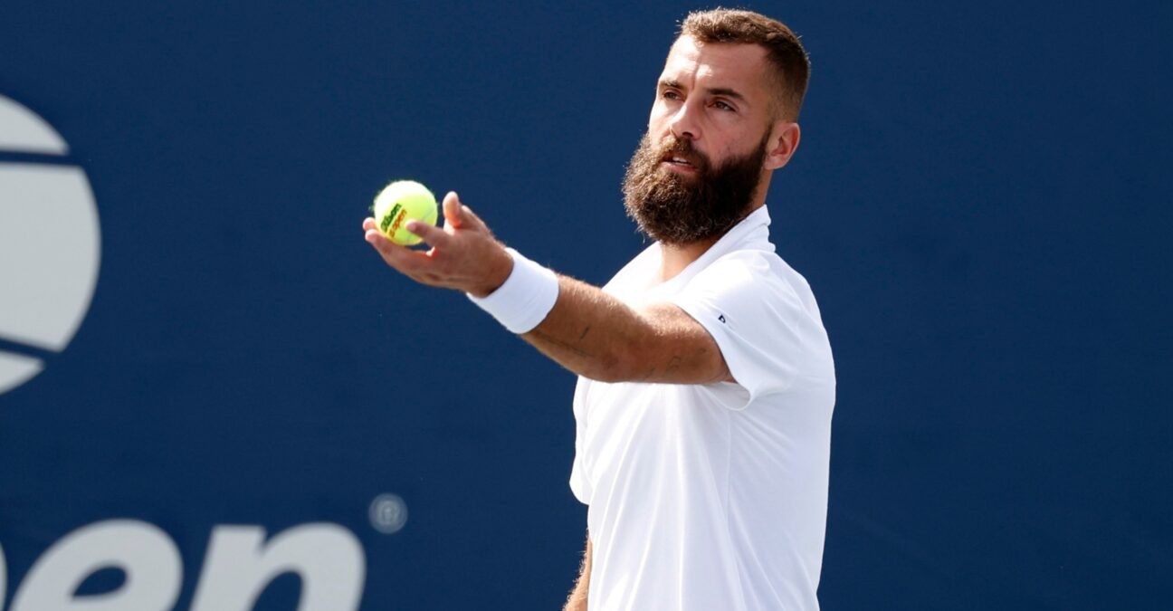 Benoît Paire at the 2021 US Open