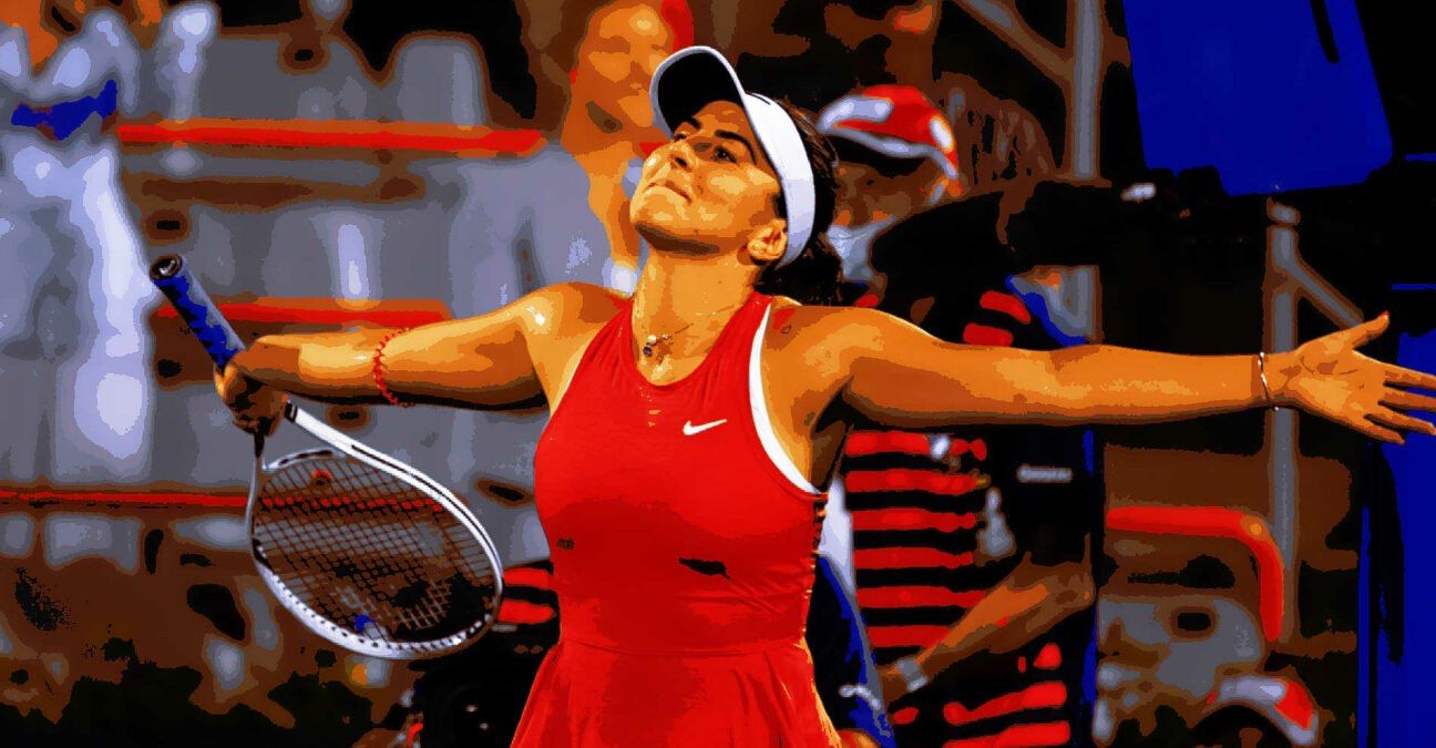 Bianca Andreescu at Montreal in 2021