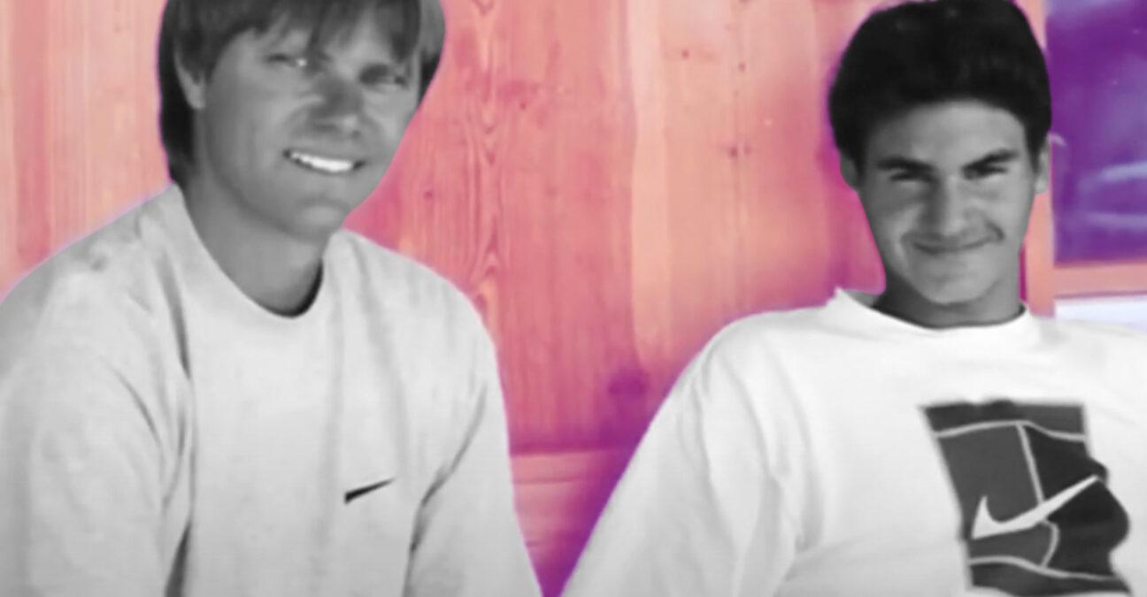Roger Federer et Peter Carter, On this day