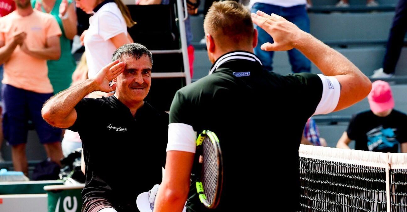Stéphane Houdet & Nicolas Peifer at Roland-Garros in 2018