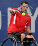 Tokyo 2020 Paralympic Games - Wheelchair Tennis - Joachim Gerard of Belgium