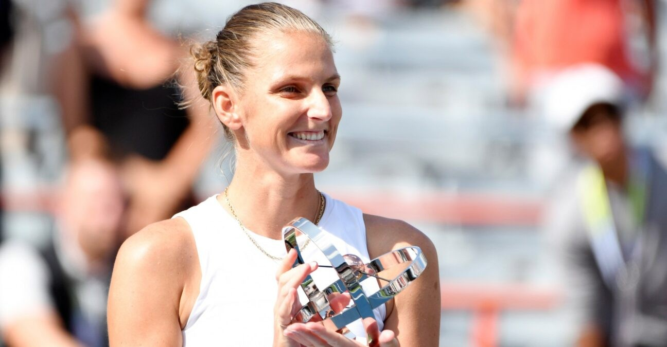 Karolina Pliskova at Montreal in 2021