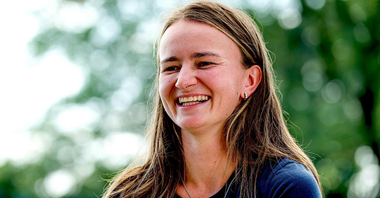 Barbora Krejcikova at Cincinnati in 2021