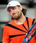 Lucas Pouille at Montpellier in 2021