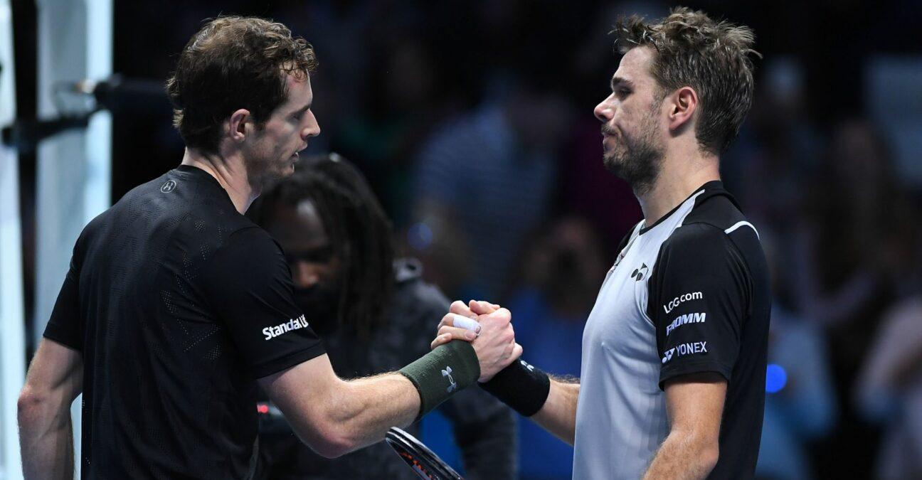TENNIS : ATP FINALS 2016 - Andy Murray (GB) vs Stan Wawrinka (Swi)
