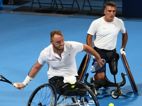 Nicolas Peifer & Stéphane Houdet at the Tokyo Paralympics in 2021