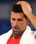 Novak Djokovic at Tokyo Olympics in 2021