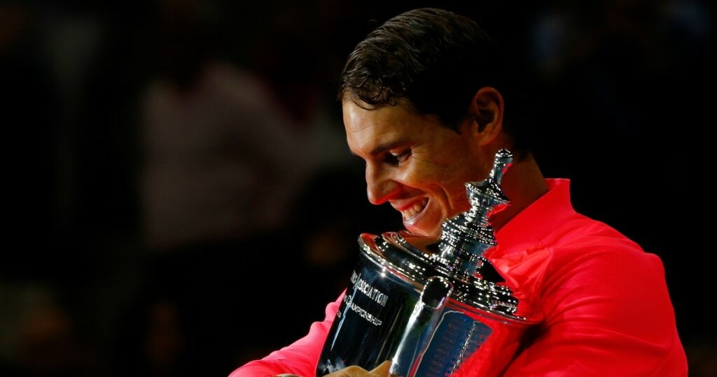 Rafael Nadal at US Open in 2021