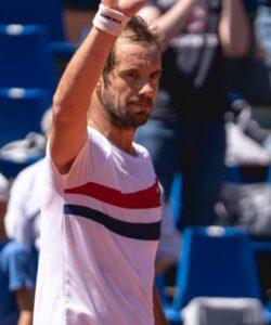 Richard Gasquet at Lyon in 2021
