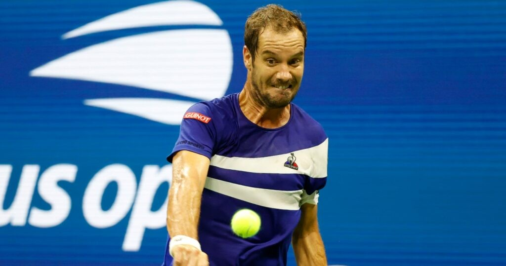 Richard Gasquet at the 2021 US Open