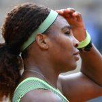 Serena Williams at Roland-Garros in 2021