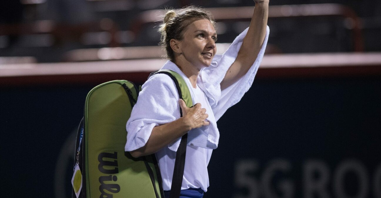 Simona Halep at Montreal in 2021