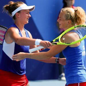 Katerina Siniakova et Barbora Krejcikova - Jeux olympiques de Tokyo 2020