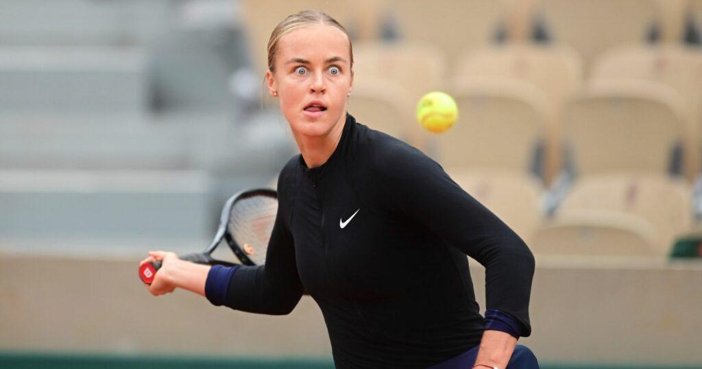 Anna Karolina Schmiedlova at Roland Garros French Open 2020