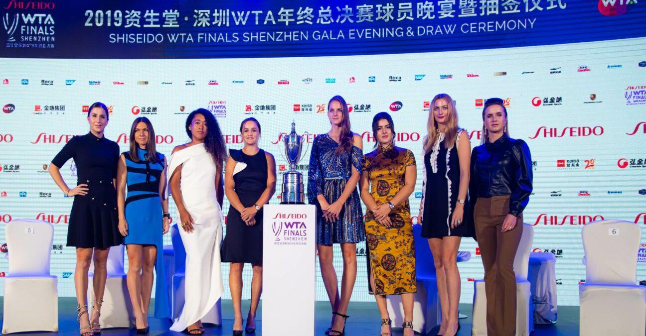 WTA Finals at Shenzhen in 2019