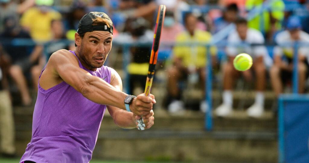 Rafael Nadal Citi Open 2021