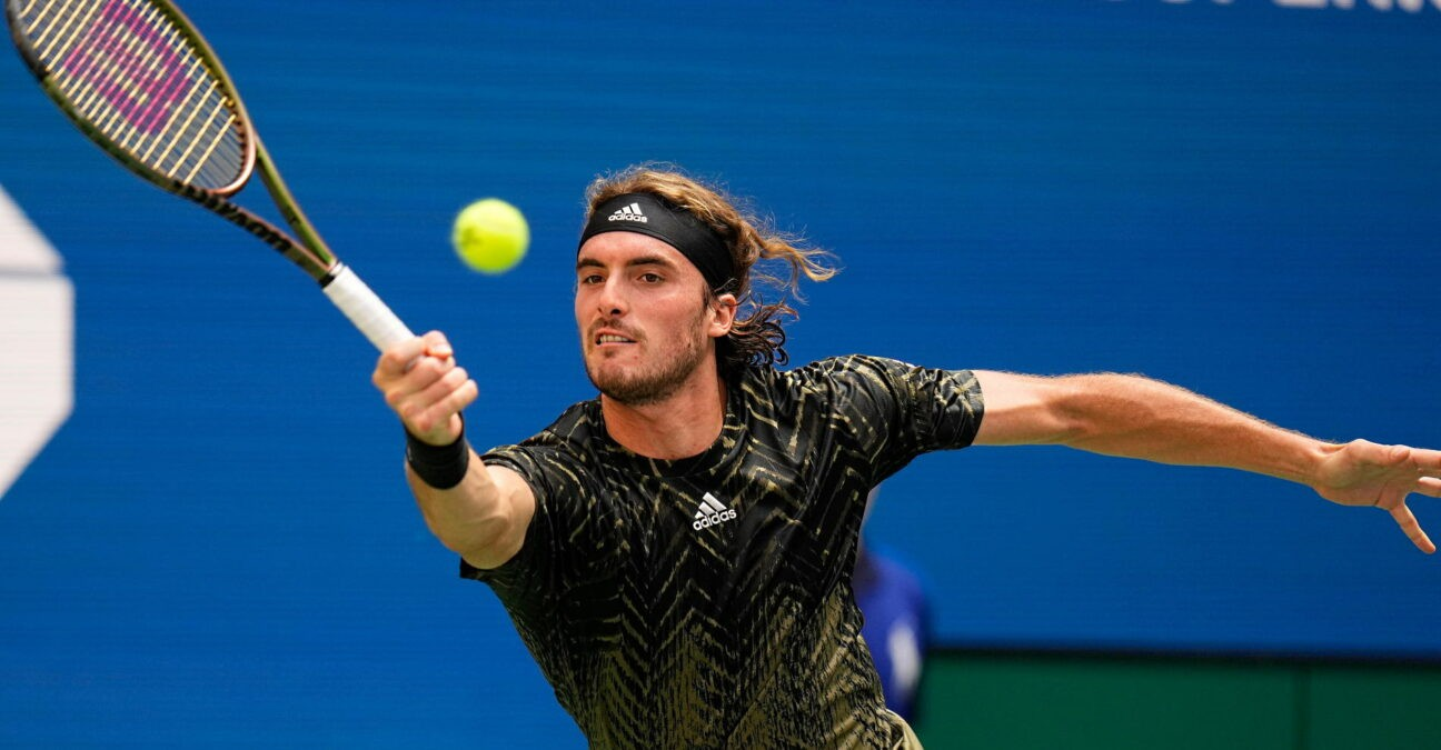 Stefanos Tsitsipas, US Open 2021