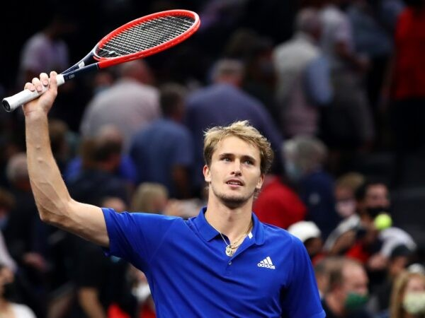 Alexander Zverev at the Laver Cup in 2021