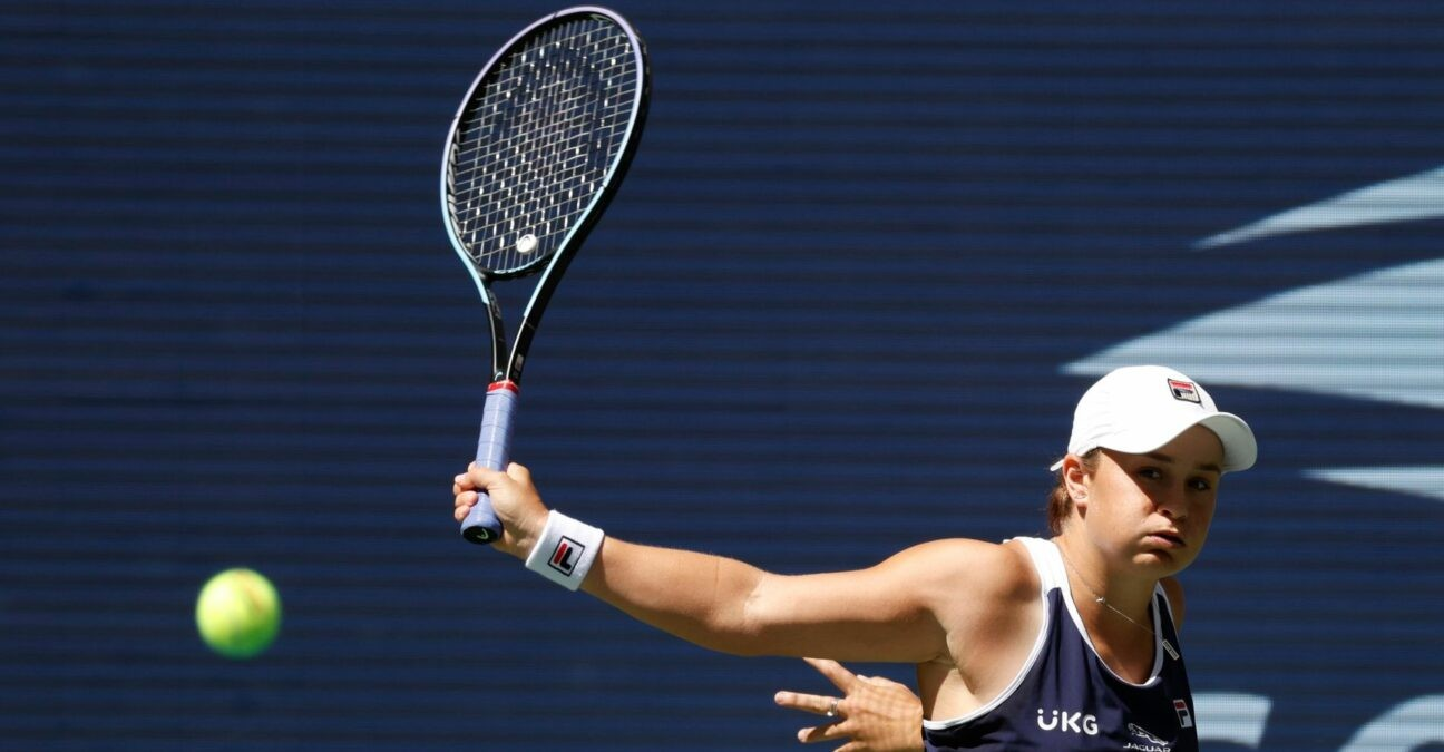 Ashleigh Barty day four of the 2021 U.S. Open tennis tournament at USTA Billie Jean King National Tennis Center.