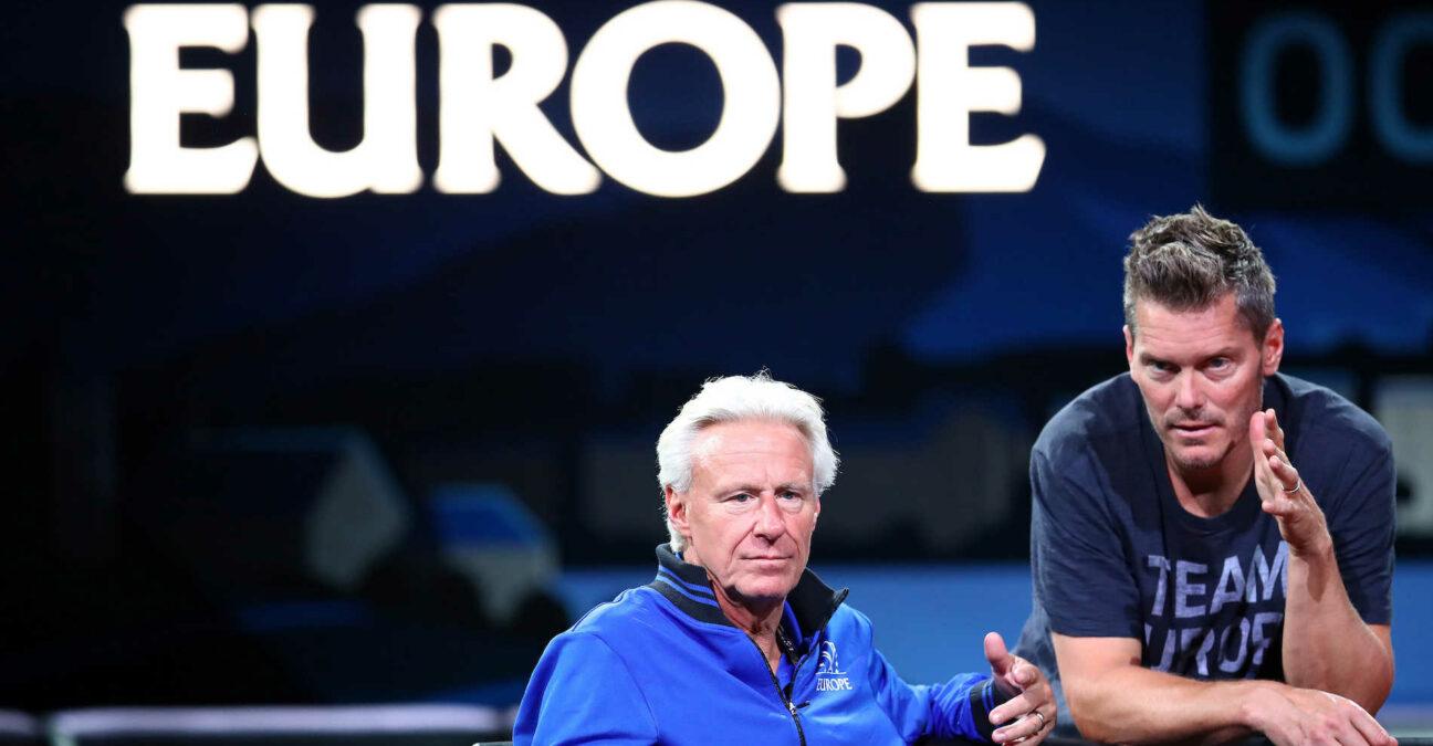 Björn Borg, Thomas Enqvist, Team Europe, Laver Cup