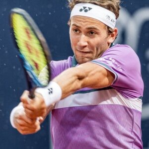 Kitzbuehel - Casper Ruud of Norway during the final match for the Generali Open Tennis Tournament