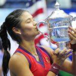 Emma Raducanu at the 2021 US Open