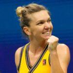 Simona Halep à l'US Open 2021