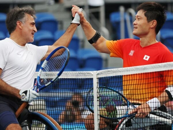 Stéphane Houdet & Shingo Kunieda, Tokyo Paralympics 2021