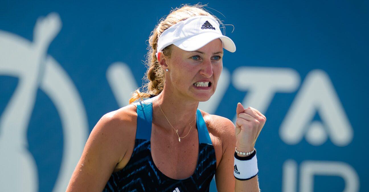 Kristina Mladenovic at Chicago in 2021