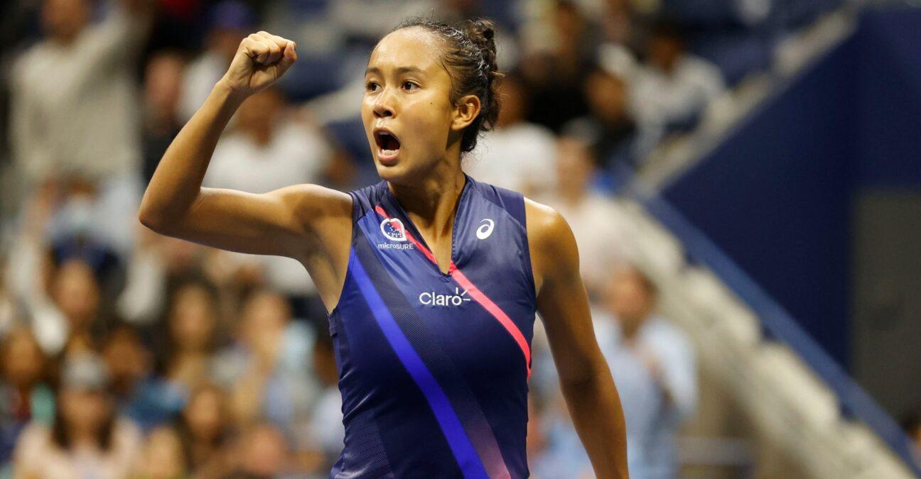Leylah Fernandez - US OPEN - Victory against Osaka