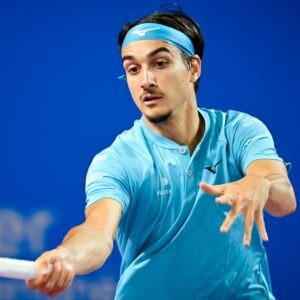 Lorenzo Sonego at the Open Sud de France 2021 - Montpellier - 26/02/2021